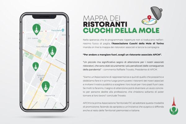 On line la mappa dei ristoratori associati